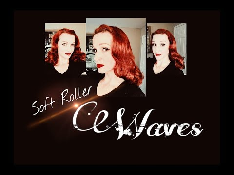 Soft Roller Variation for Hayworth-ish Waves (Straight Hair)