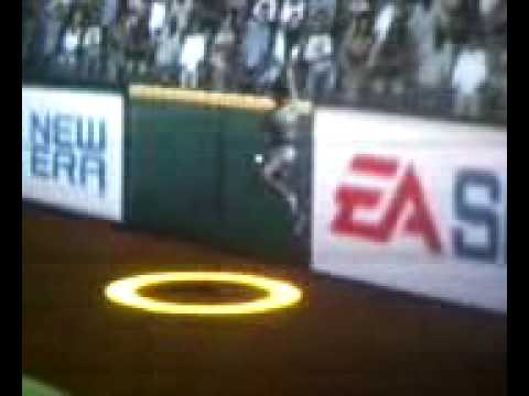 Amazing MVP Baseball 2005 Baseball Catch With Foot