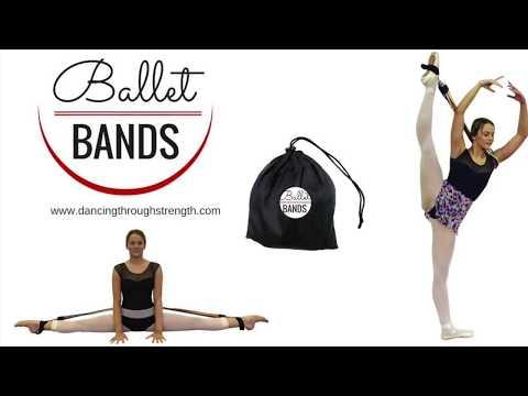 Ballet Bands -  Improve Flexibility - How to get flexible
