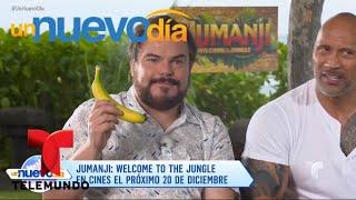 Kevin Hart, The Rock y Jack Black ¡hablan en español!   Un Nuevo Día   Telemundo