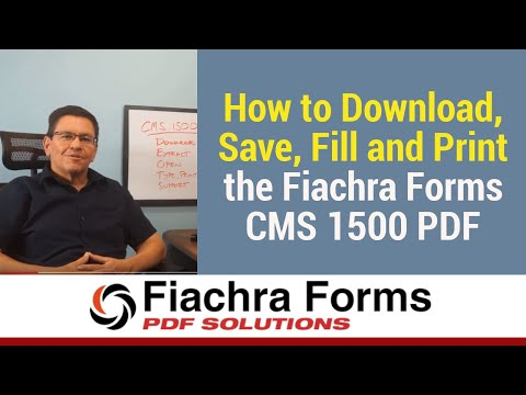 How to Download the CMS 1500 PDF