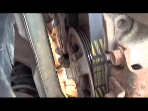 DIY - How to replace your Chevy Cavalier Serpintine Belt
