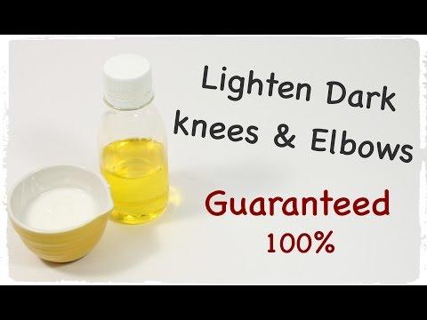 Lighten Dark Knees and Elbows FAST