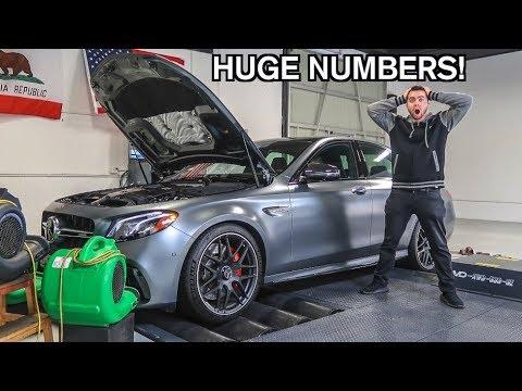 TUNED 2018 E63S AMG Horsepower Numbers REVEALED!
