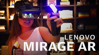Lenovo Mirage AR MARVEL Dimension of Heroes at IFA 2019