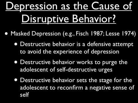 Depression in Children and Adolescents - Part 1