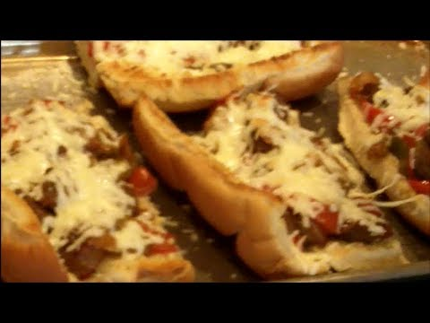 Easy Sausage and Peppers - Hoagie Style