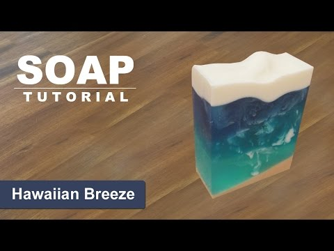 Hawaiian Breeze Melt and Pour Soap - ( Contest Giveaway - CLOSED )