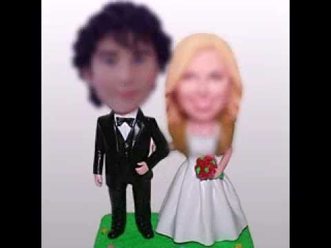 How to make your own customized bobbleheads?Just by your photo to make your own custom bobbleheads