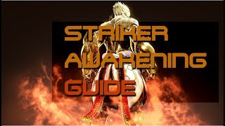 BDO - Striker unawakened PvP guide! - Combos, duels, tips