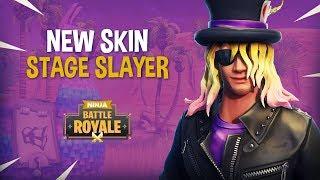 NEW Stage Slayer Skin!! - Fortnite Battle Royale Gameplay - Ninja