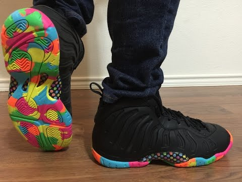 dc198857487 ... new zealand surprising sneakergirl79 with the nike lil posite black  fruity pebbles unboxing on feet review