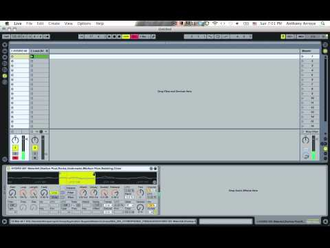 Ableton Video Tutorial--How to Make an Instant Synthesizer with Ableton's Simpler