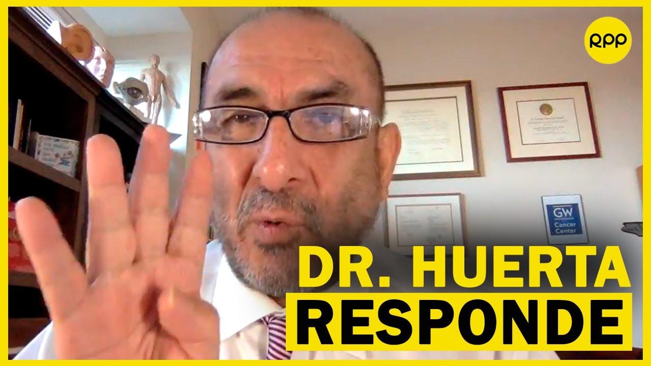 ¿Qué vacuna me conviene? Dr. Elmer Huerta aclara dudas sobre las que llegarán al Perú