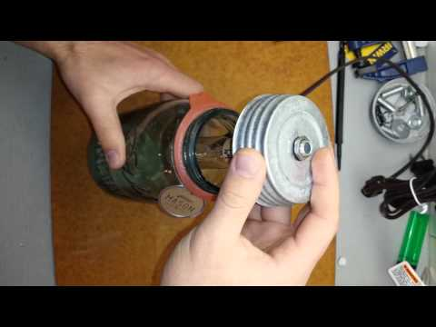 How to Change a Lightbulb on a Wright Mason jar.