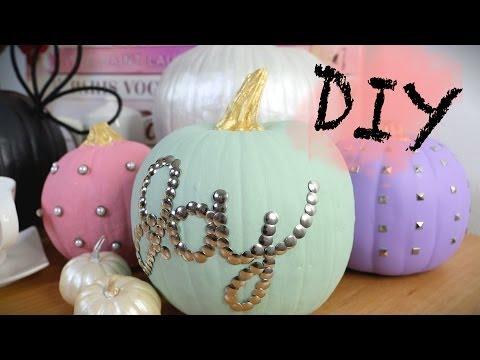 DIY Decorated Pumpkin | HOME DECOR | ANN LE