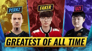 10 GREATEST League Players of ALL TIME - League of Legends