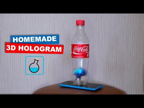 DIY 3D Hologram from a bottle of Coca Cola. LifeHacks | Easy hack