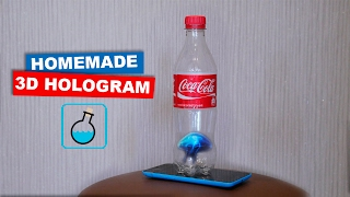 DIY 3D Hologram from a bottle of Coca Cola. LifeHacks | Easy hack