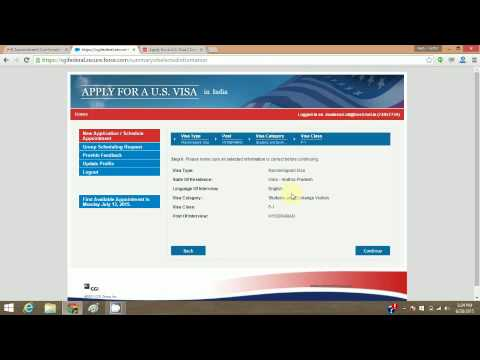 How To Apply For US Visa Online - Book Your Slot/Reschedule