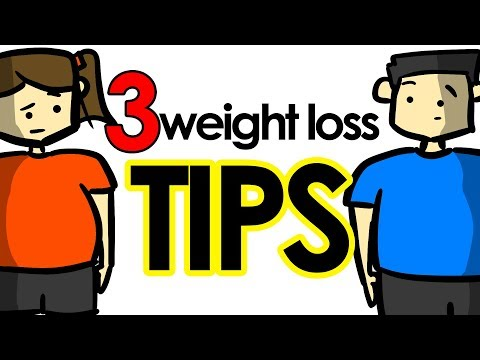 3 Weight Loss Tips EVERYONE Can Use