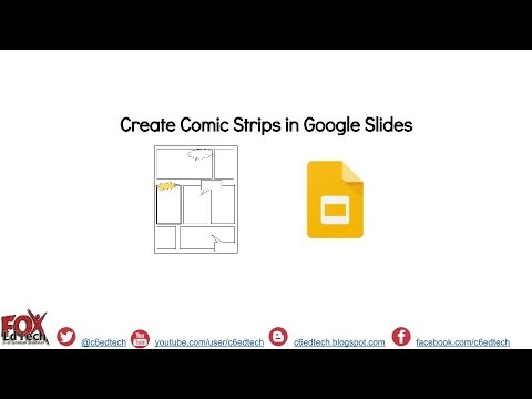 Create Comic Strips in Google Slides