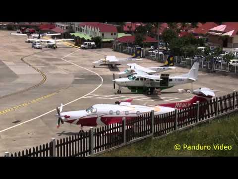 St Maarten Plane Spotting at St Barthelemy Gustaf III Airport Monday, June 17, 2013
