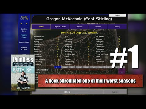 Championship Manager 01/02 - Let's Play East Stirling #1