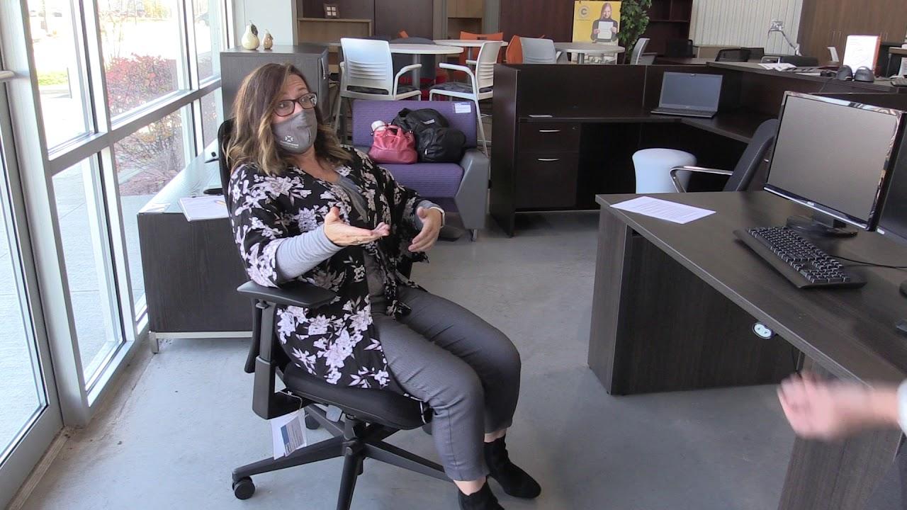 Office Ergo - Kelly on Fern chair