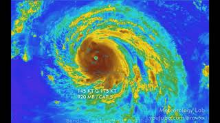 Amazing satellite footage of Hurricane Harvey, Irma, and Jose