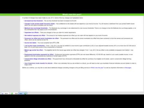 E-tax 2013 Tutorial 1: How To Set Up Your E-tax File