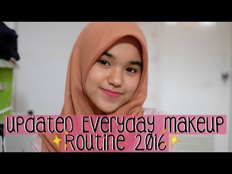 Updated Daily Makeup Routine! / My Go-To Makeup Look 2016♡ || Nada Syifaa