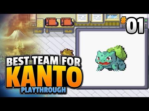 Best Team for Kanto Episode 1 [Best Starter for Kanto]
