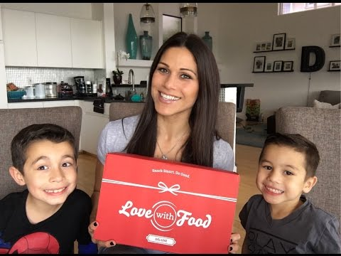 Healthy Family Snacks Unboxing || Love With Food