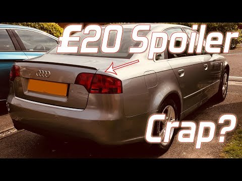 I Bought A £20 eBay Spoiler. Here's how it went...