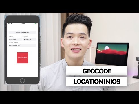 How to Geocode Locations in iOS | Introduction to Core Location Pt 2