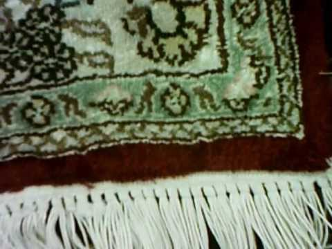How to tell a Real Silk rug from a Cotton Rug by Luv-A-Rug