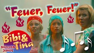 Bibi & Tina - FEUER FEUER official Musikvideo in voller Länge aus Kinofilm 3 MÄDCHEN GEGEN JUNGS