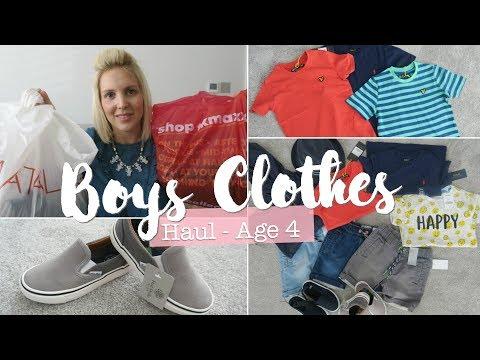 Boys Clothes Haul - Age 4 | Matlan, Next, TK Maxx, H&M
