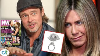 Jennifer Aniston exploded when Brad Pitt asked her to use ex engagement ring when they remarried