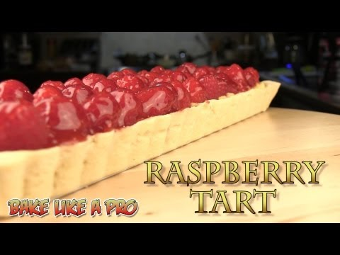 Raspberry Tart Recipe - (pastry cream recipe ) - Video 3 of 3