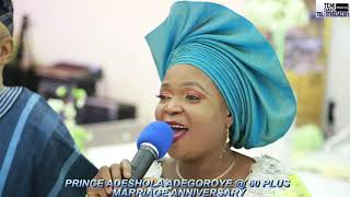 OWO MADE TRADITIONAL DANCE AT PRINCE ADEGOROYE'S 60TH IN LONDON