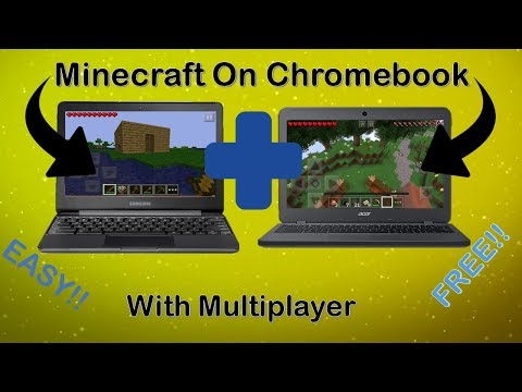 Get Minecraft on Chromebook EASY + Multiplayer for FREE!!