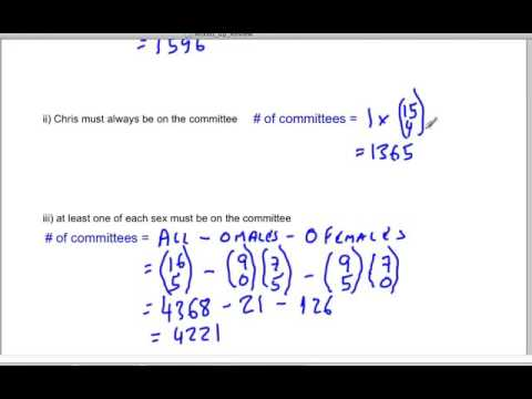 Permutations and Combinations 4