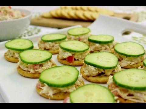 Creamy Chicken Salad Bites recipe