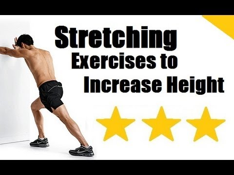 Grow Taller Exercises: Top 10 Best Stretching Exercises to Increase Height & Get or Grow Taller