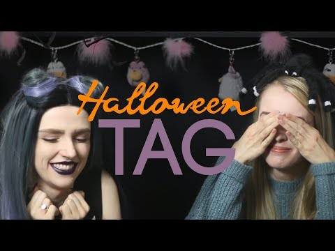The SPOOKY HALLOWEEN TAG with Becka! 🎃