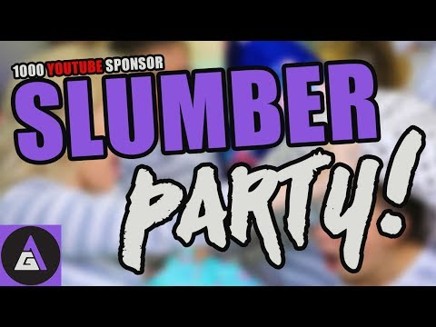 Game Attack's 1000 YouTube Sponsor Slumber Party!