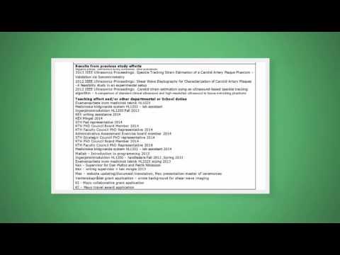 Individual Study Plan — PhD Chapter at KTH
