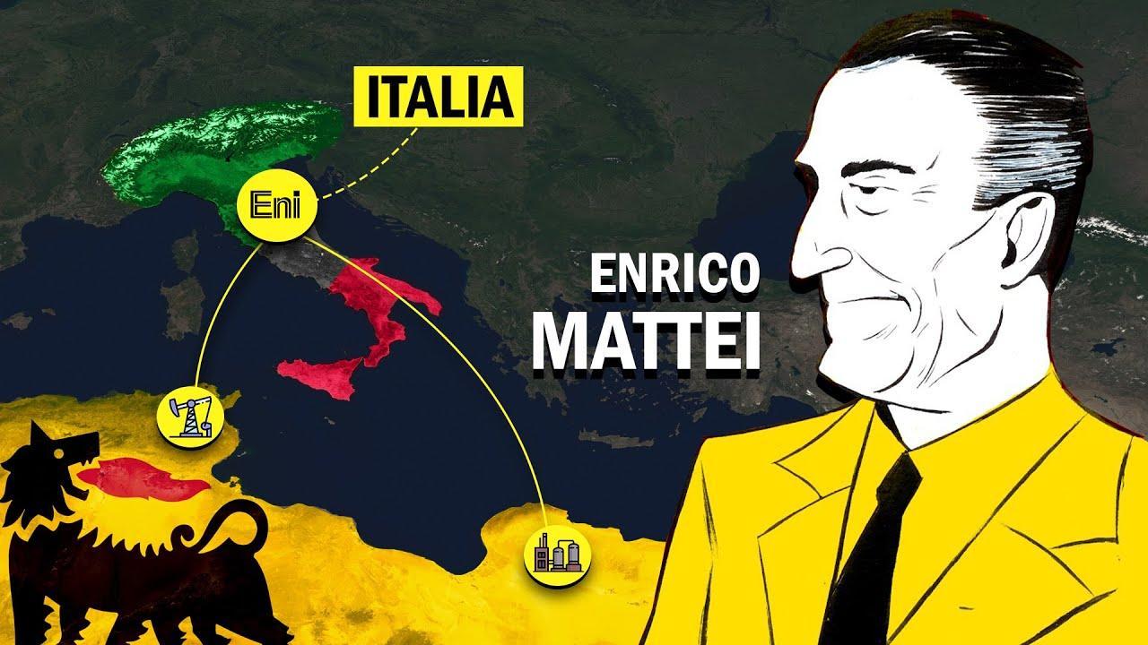 Quando l'ENI trasformò l'Italia in una SUPERPOTENZA